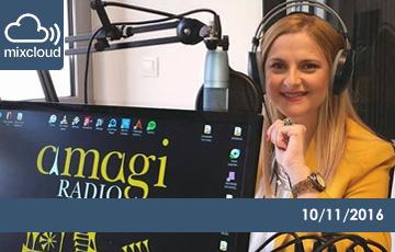 Άννα Παρδάλη - amagi Radio, HealthBites 10/11/2016