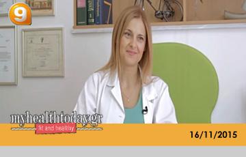 Άννα Παρδάλη - Κανάλι 9, myhealthtoday.gr, 16/11/2015